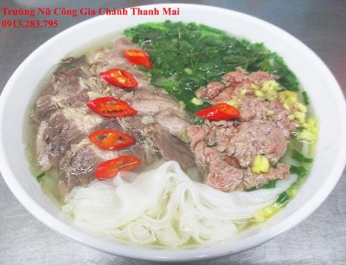 Dạy Nấu Phở Bò Nam Định Để Mở Quán